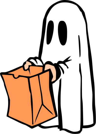 The lady wolf svg. Ghost clipart costume