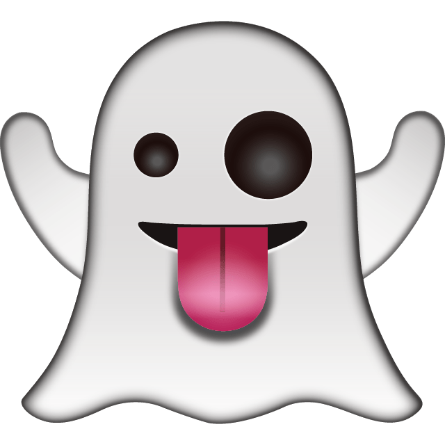 Clipart png ghost. Emoticon transparent stickpng download