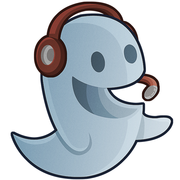 Ghost cool graphics illustrations. Excited clipart cheerful