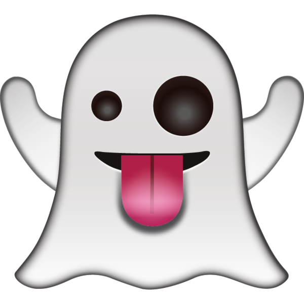 collection of high. Ghost clipart emoji
