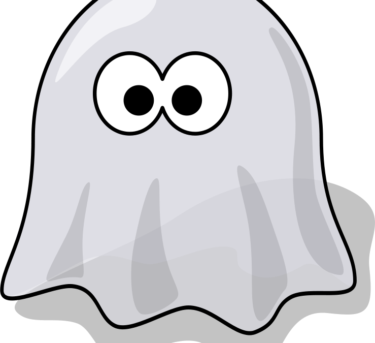 Spooky eye facts from. Ghost clipart fake