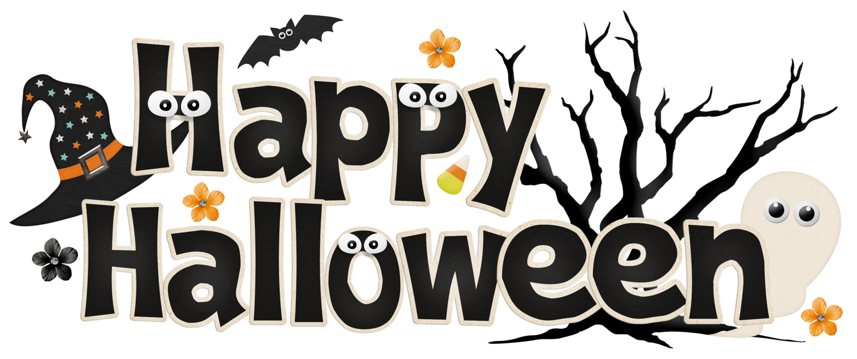 Kids clipart halloween. Happy png fun ghost