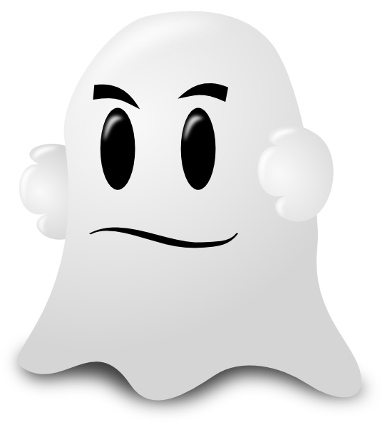 Clipart ghost ghost face. Cartoon clip art at