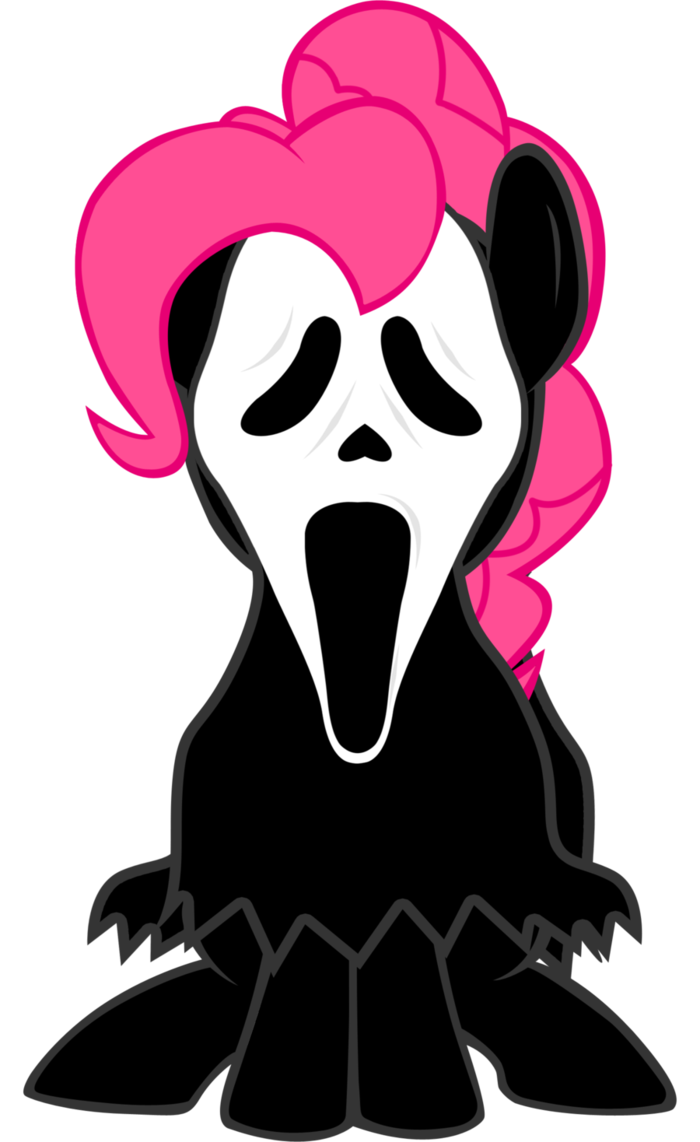 Clipart ghost ghost face. Pinkie pie by lcpsycho