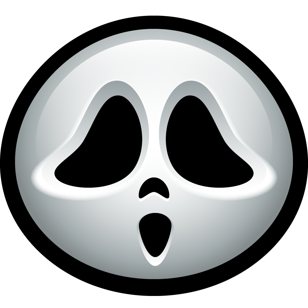 Ghostface icon halloween avatar. Clipart ghost ghost face