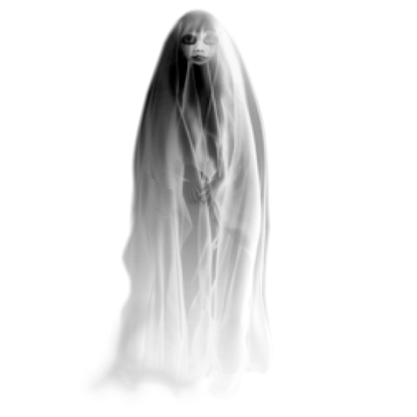 Png transparent image free. Lady clipart ghost