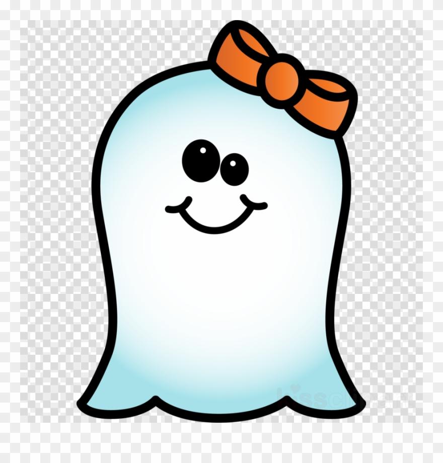 Cute halloween clip art. Ghost clipart blank background