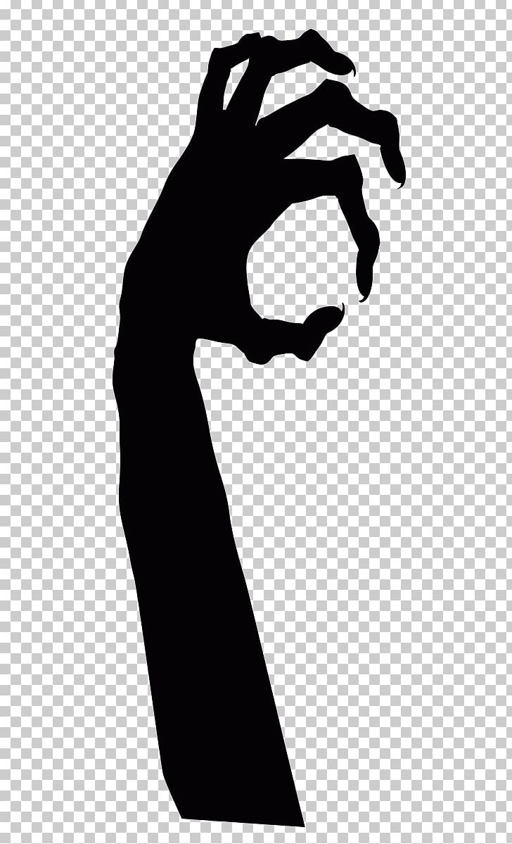 Black claws devil png. Clipart ghost hand
