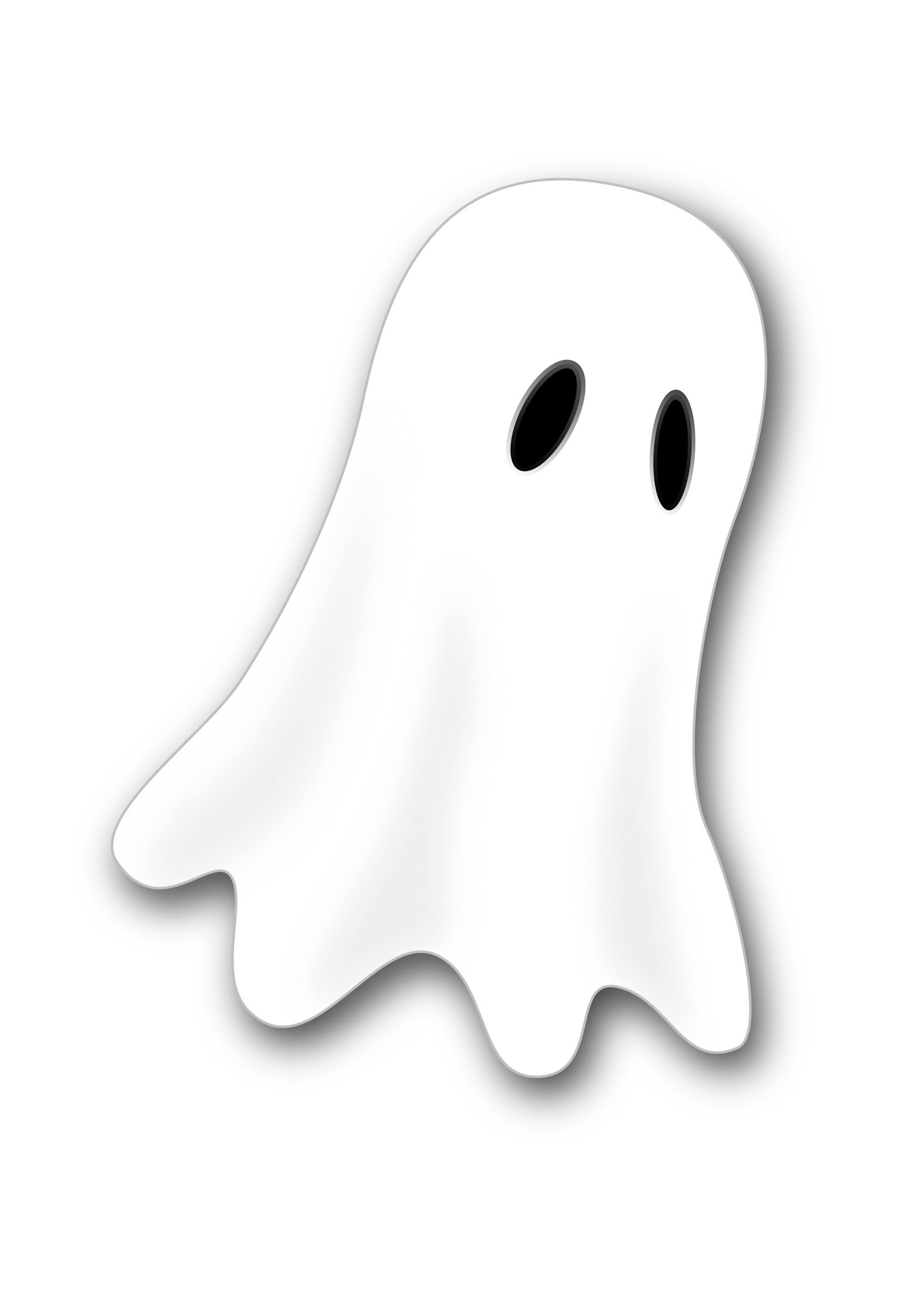 Ghost image png. Clipart writing big write