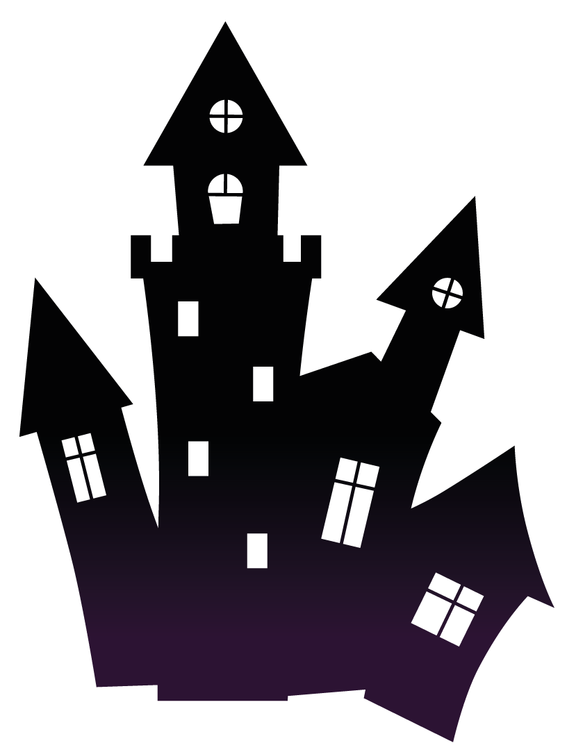 Halloween transparent stickpng download. Haunted house png