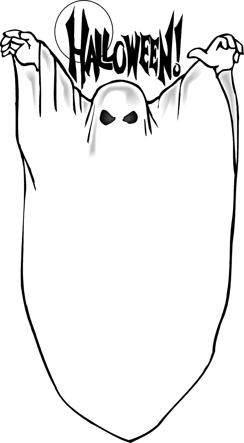 Clipart halloween ghost.  collection of blank