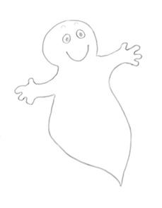 Happy halloween . Ghost clipart jpeg