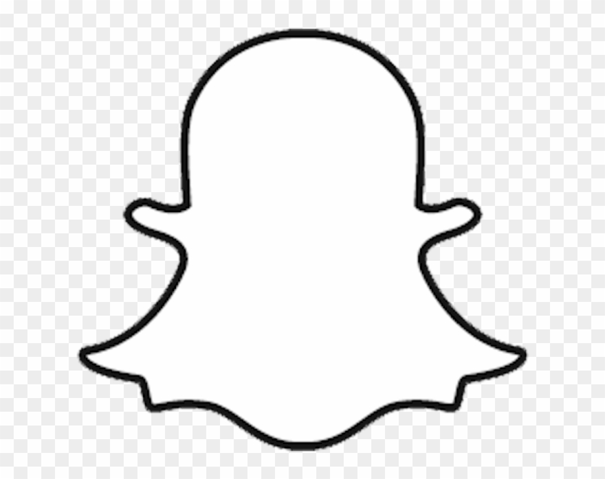Ghost clipart logo. Snapchat new on