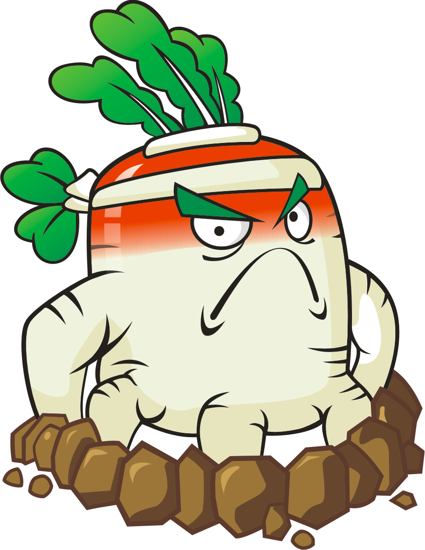 Clipart ghost mad. Angry radish