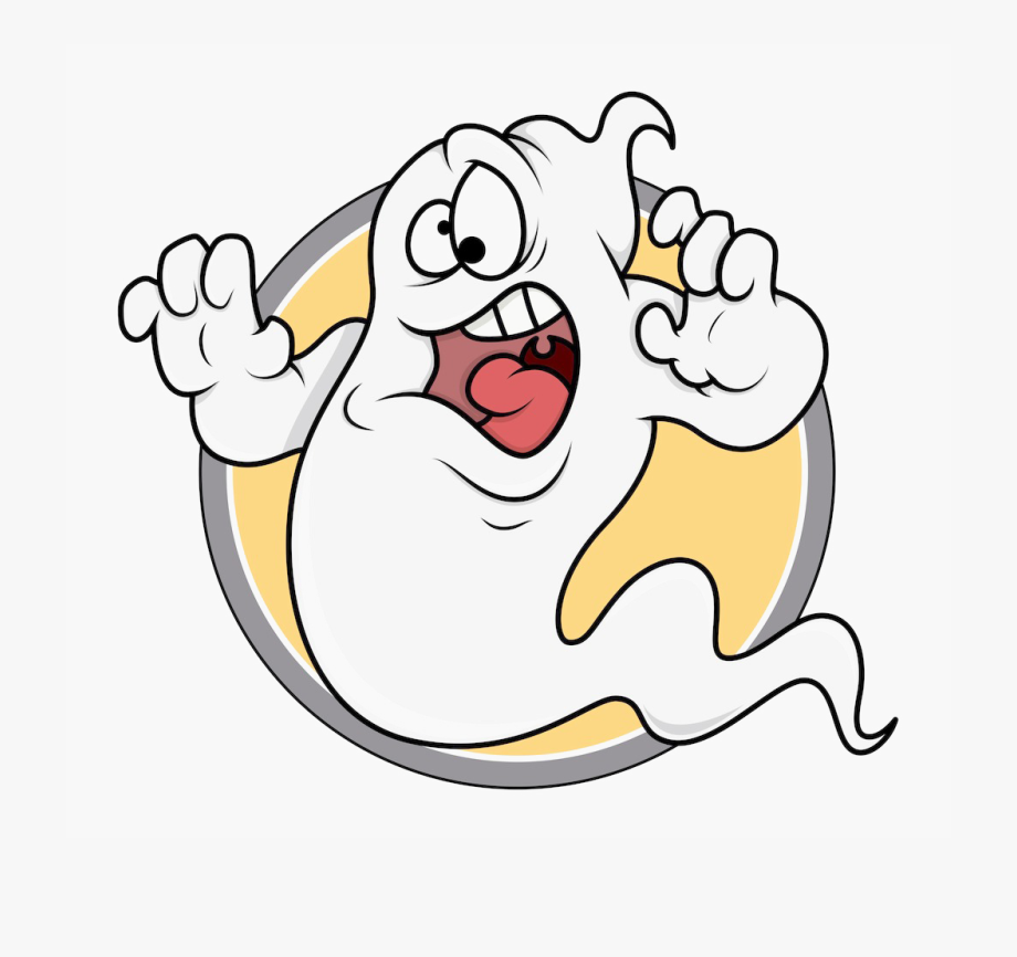 Casper ghosts and monsters. Ghost clipart cartoon