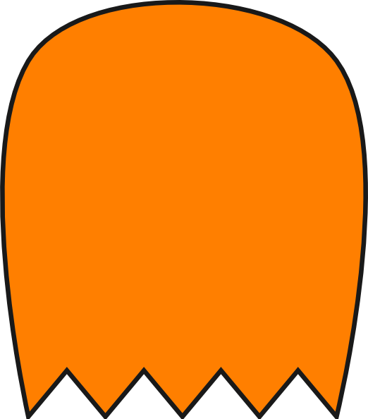 ghost clipart vector