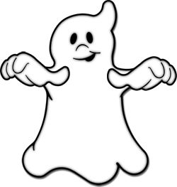 Clipart ghost printable. Halloween free download best