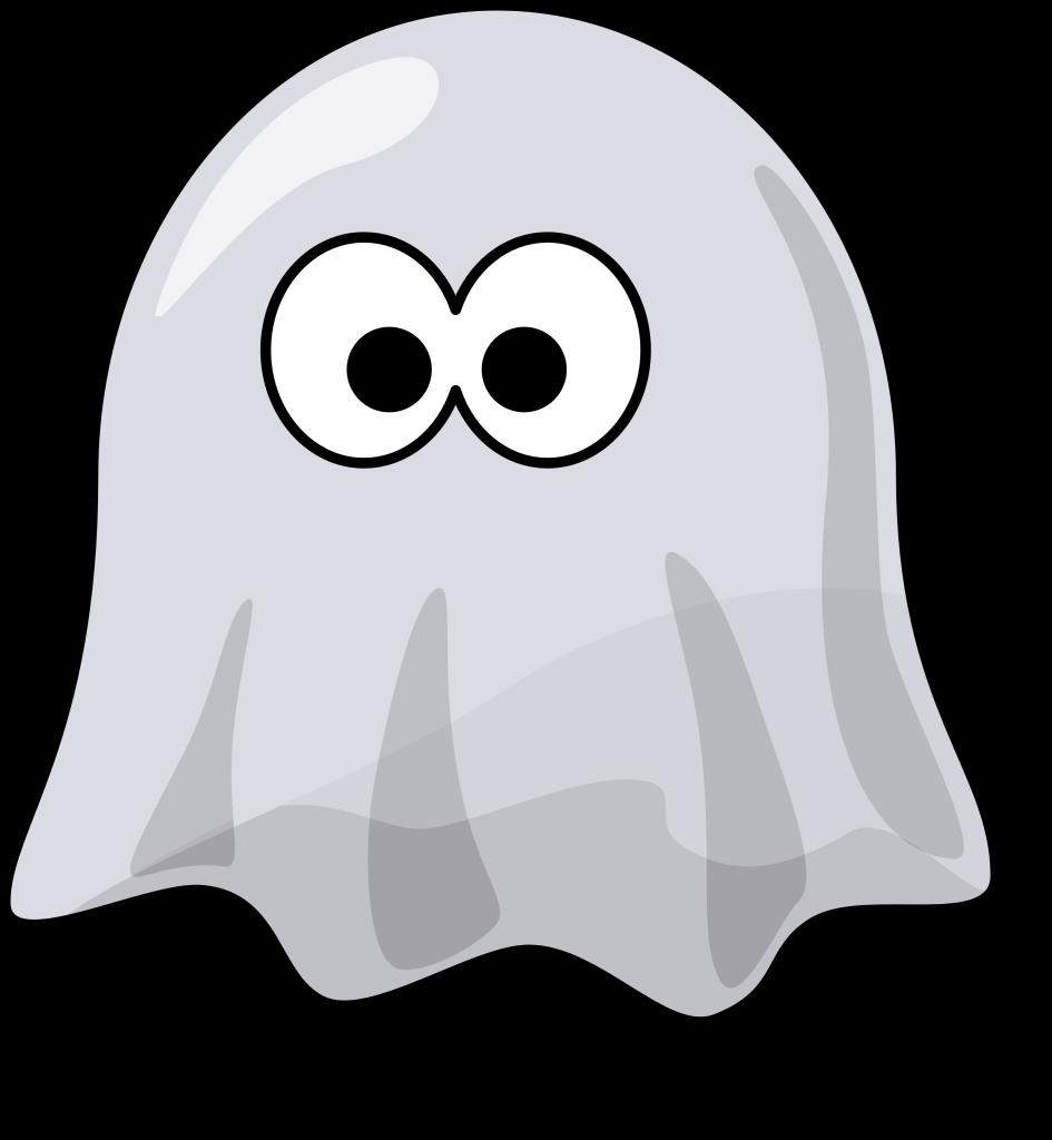 Ghost clipart adorable.  happy huge freebie
