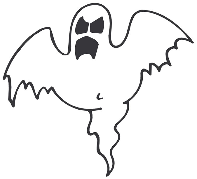 Clipart ghost spooky. Free scary cliparts download