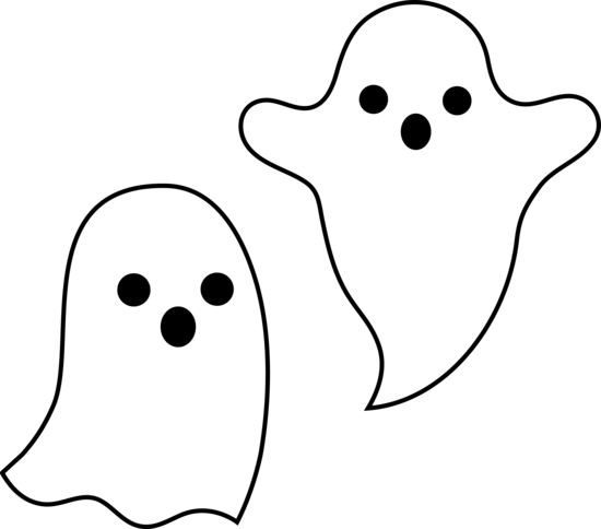Simple halloween ghosts free. Clipart ghost spooky