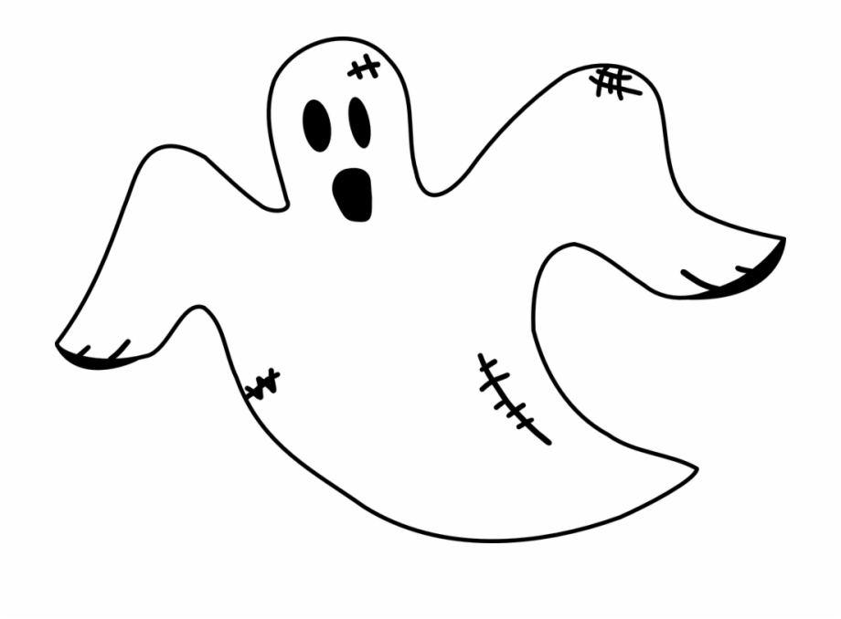 Halloween haunting scary clip. Clipart ghost spooky