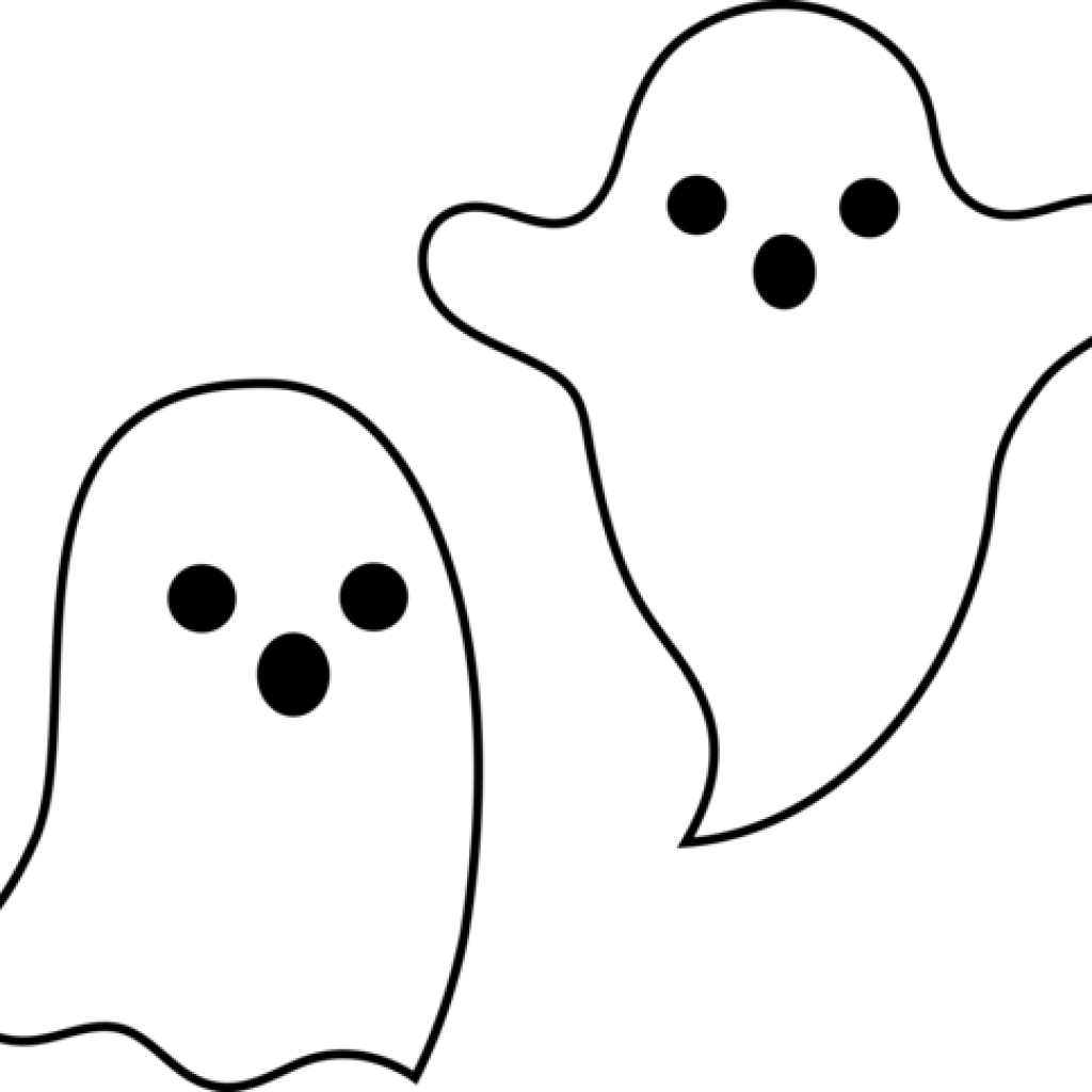 Clipart ghost spooky. Cute summer hatenylo com
