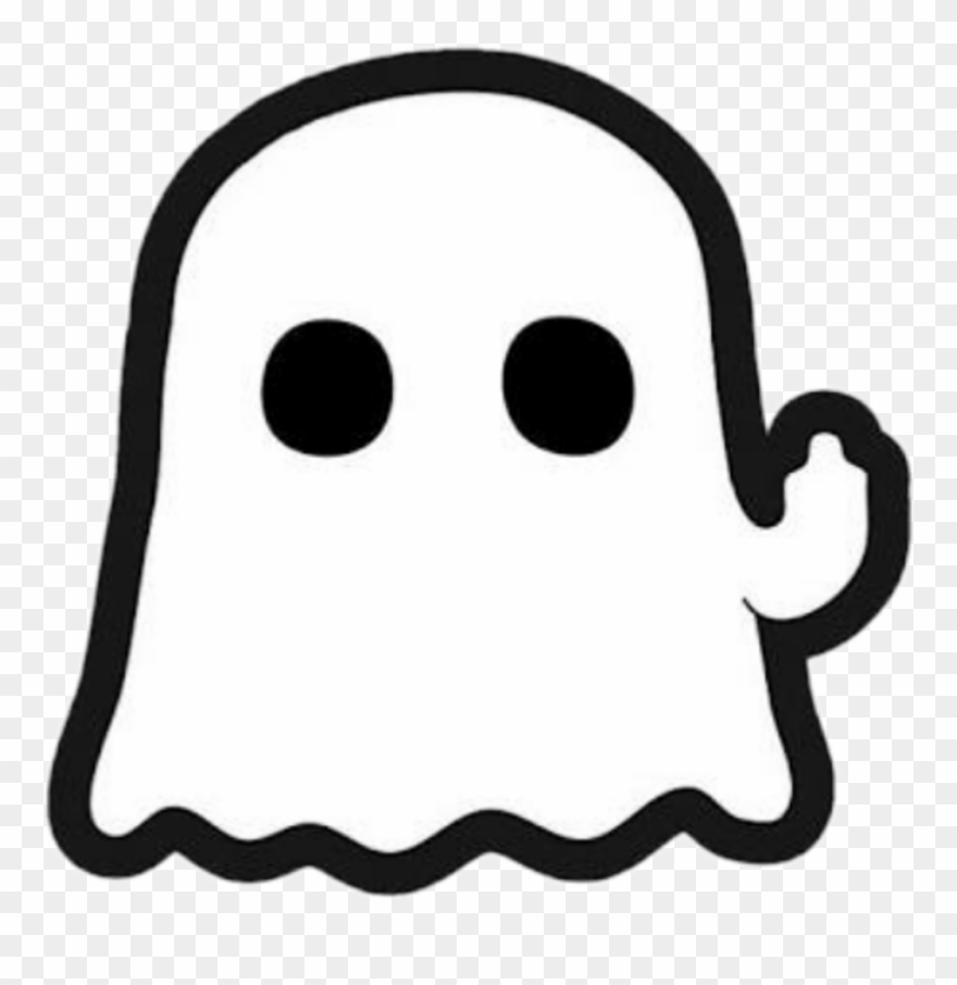 Boo fantasma mirror mine. Ghost clipart sticker