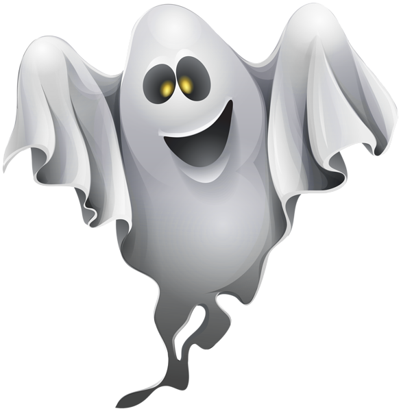 Ghost clipart character. Png