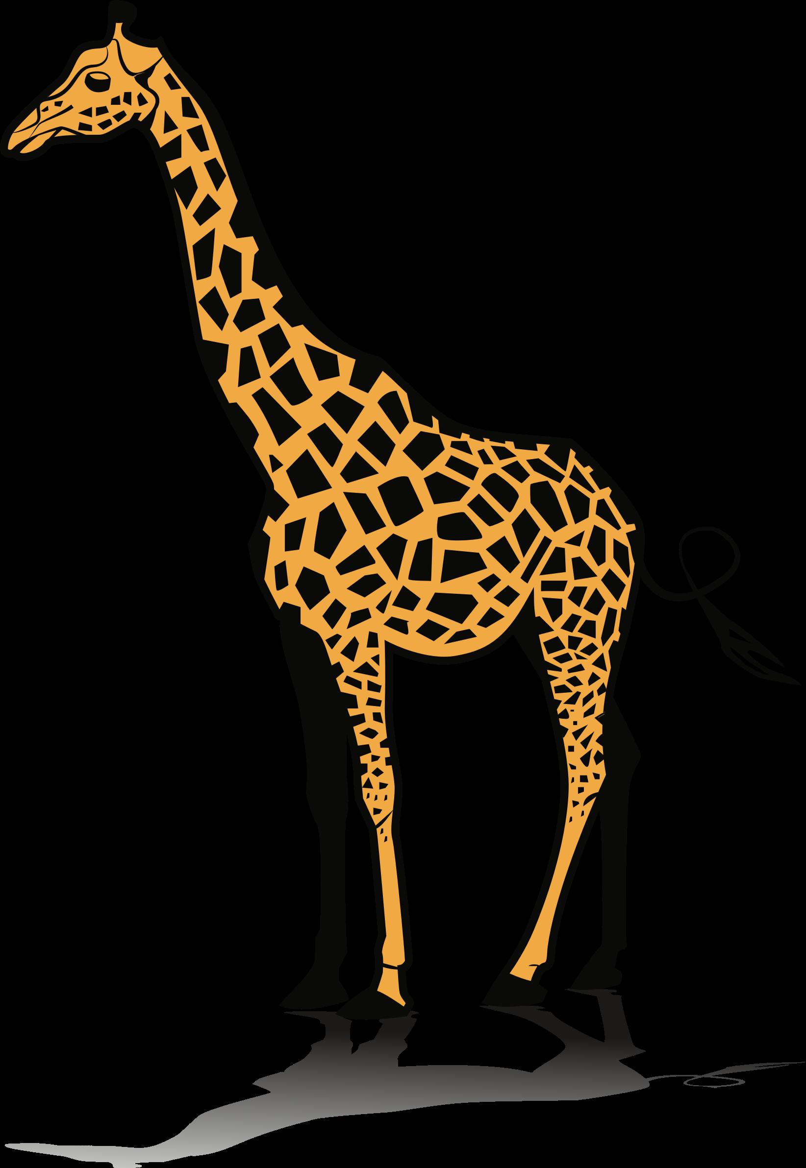 . Clipart giraffe