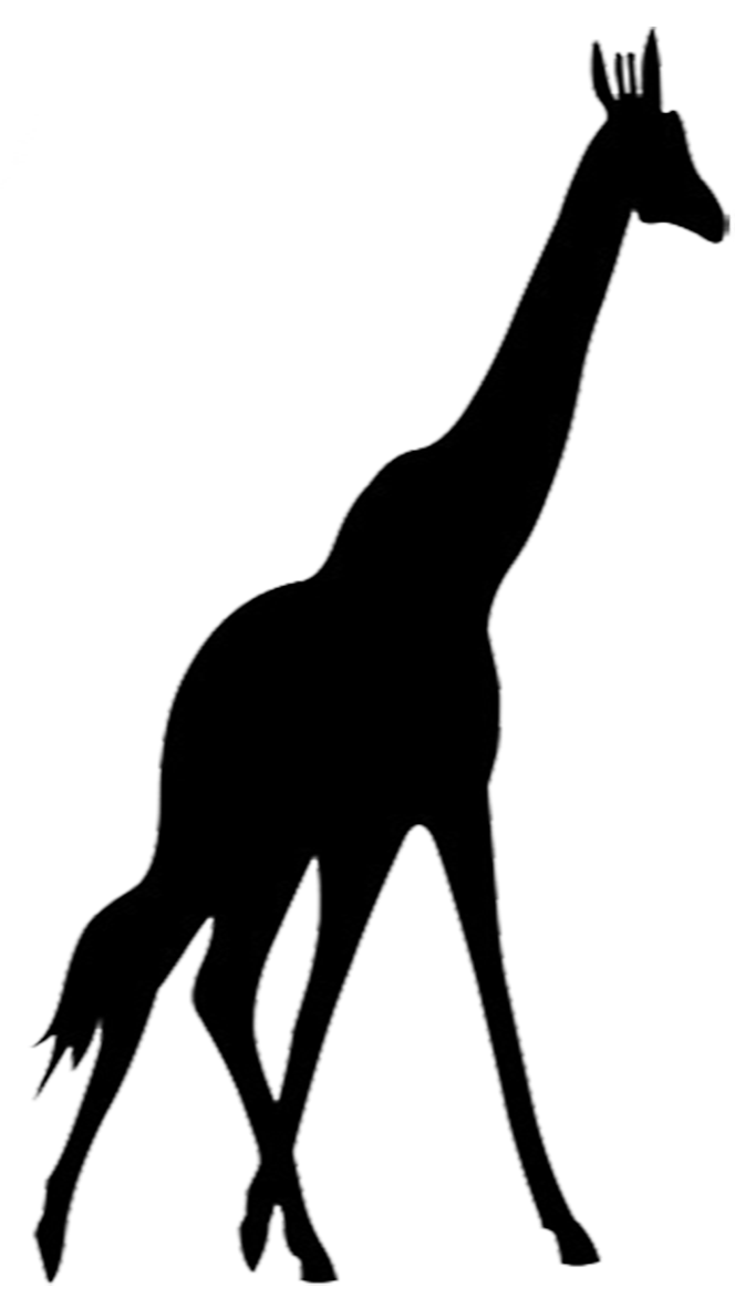 African at getdrawings com. Giraffe clipart silhouette