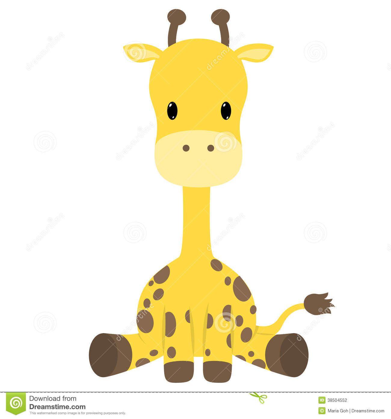 Giraffe clipart baby boy. Cartoon
