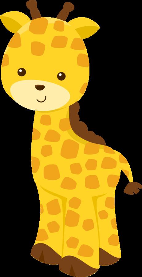 Giraffe clipart kawaii. Free clip art from