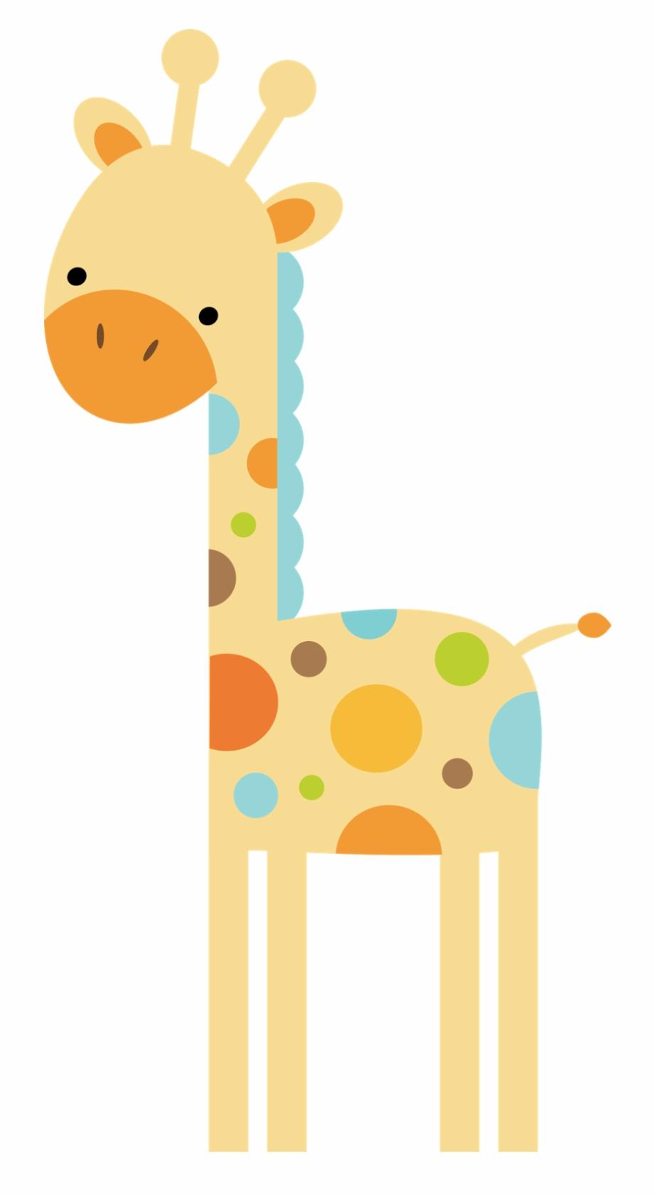 Giraffe clipart childrens. Safari jungle baby shower