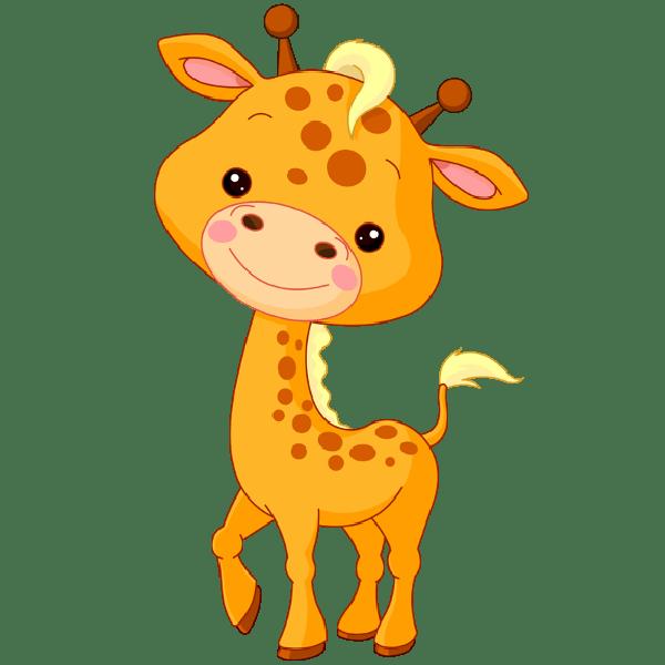 Clipart giraffe caricature. Draw cute animal cartoons