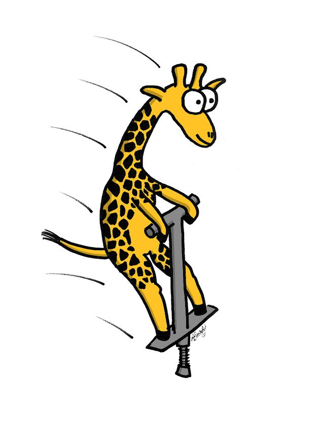 Clipart giraffe caricature. Free pics of cartoon