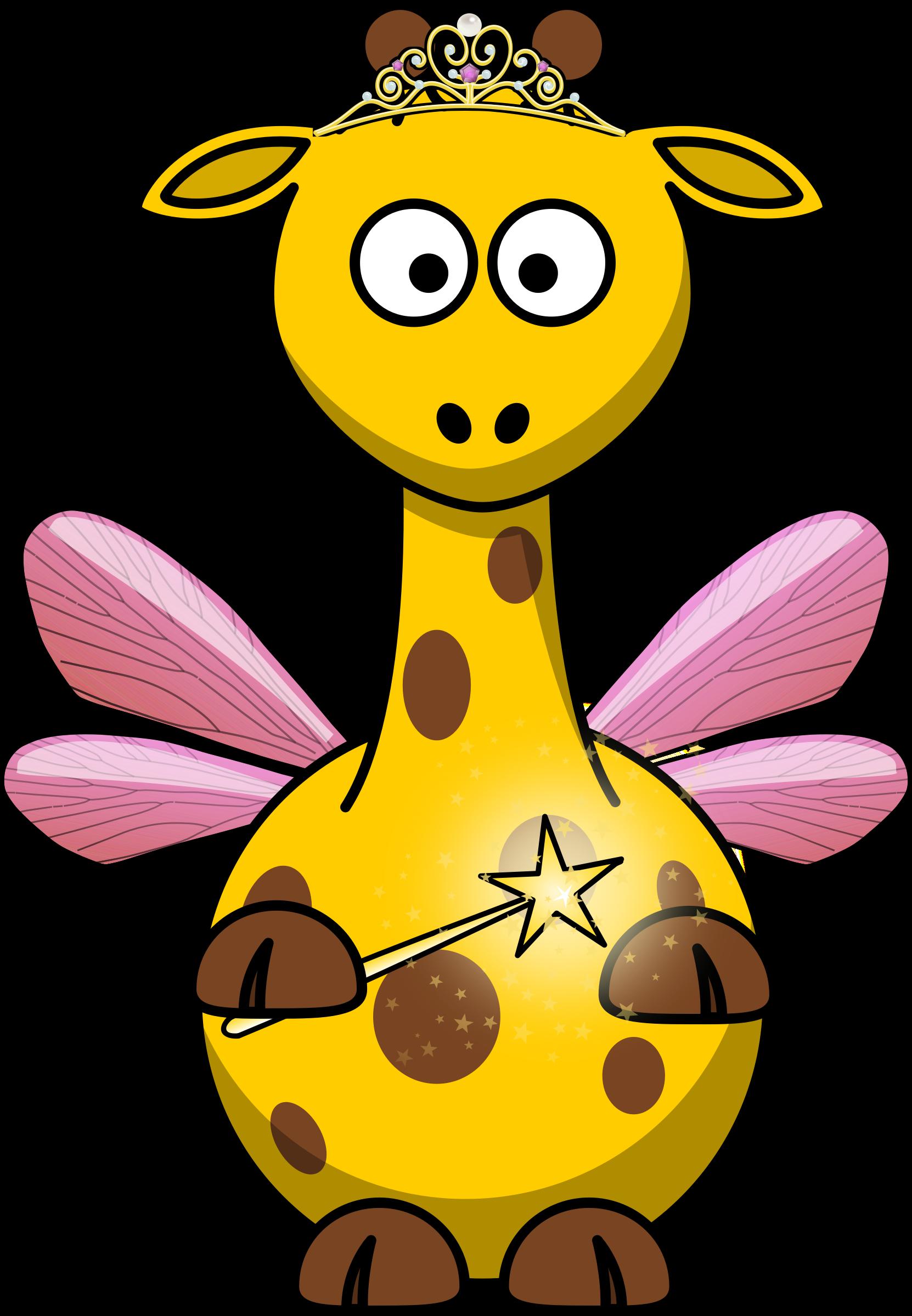 Fairy clipart love. Giraffe big image png