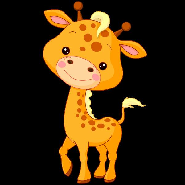 Baby . Giraffe clipart cartoon