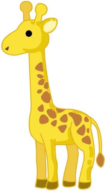 Giraffe clipart girraffe. Clip art baby panda