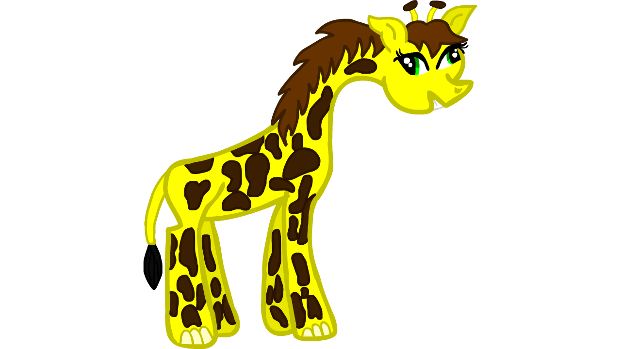 Giraffe clipart geoffrey.  collection of derpy