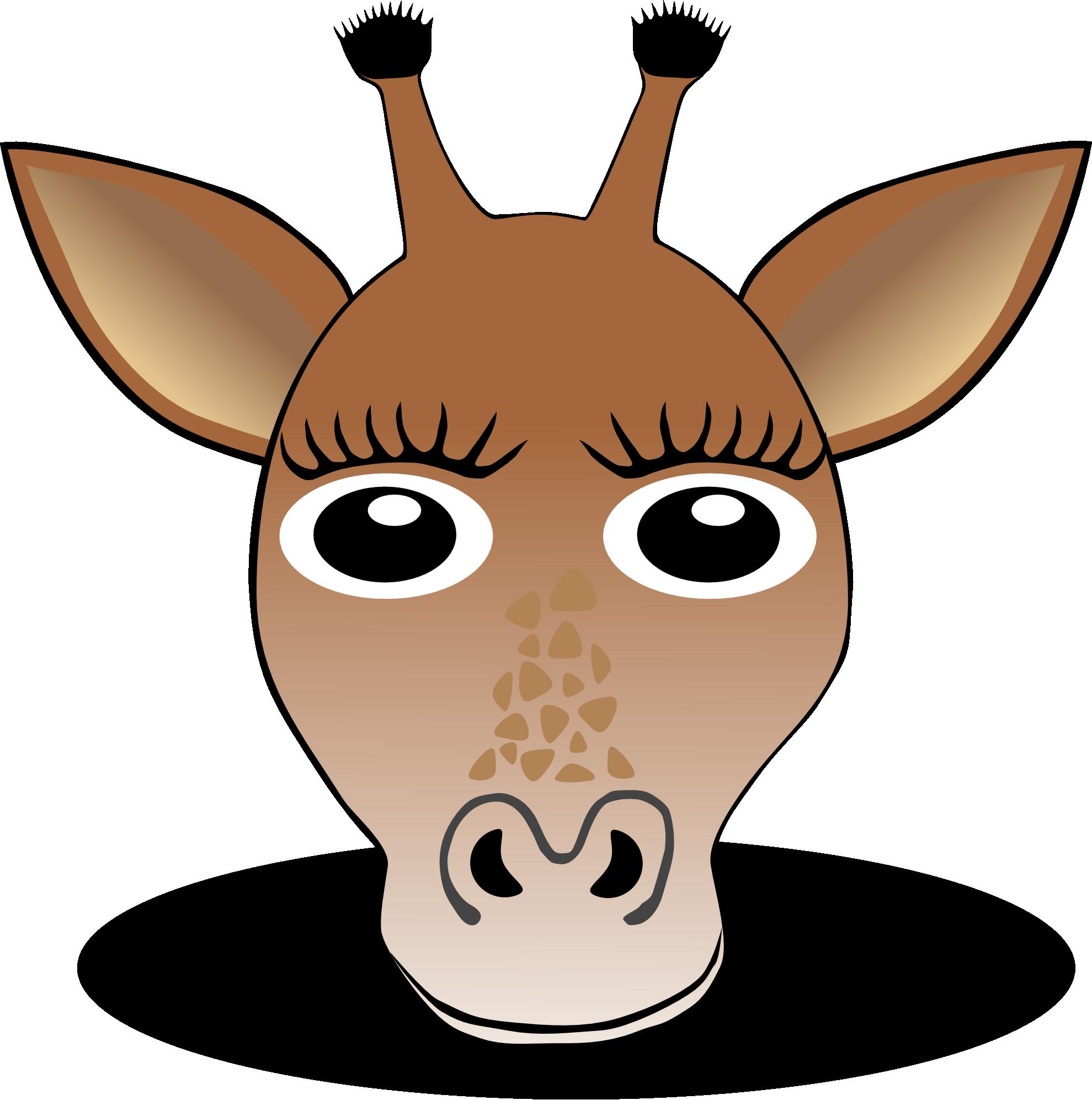 Head clipart donkey. Giraffe panda free images