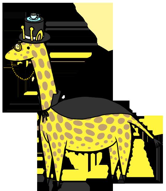 Dapper by capersaurus on. Clipart giraffe hoof