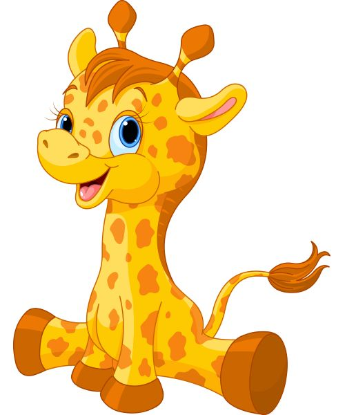Images about clip art. Clipart giraffe jungle animal