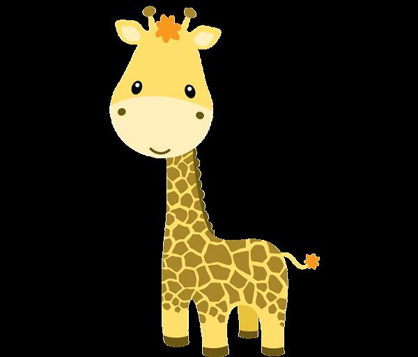 Clipart giraffe jungle animal. Baby animals zoo clip