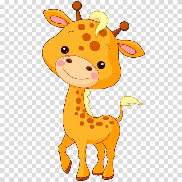 Baby animals northern sun. Clipart giraffe jungle animal