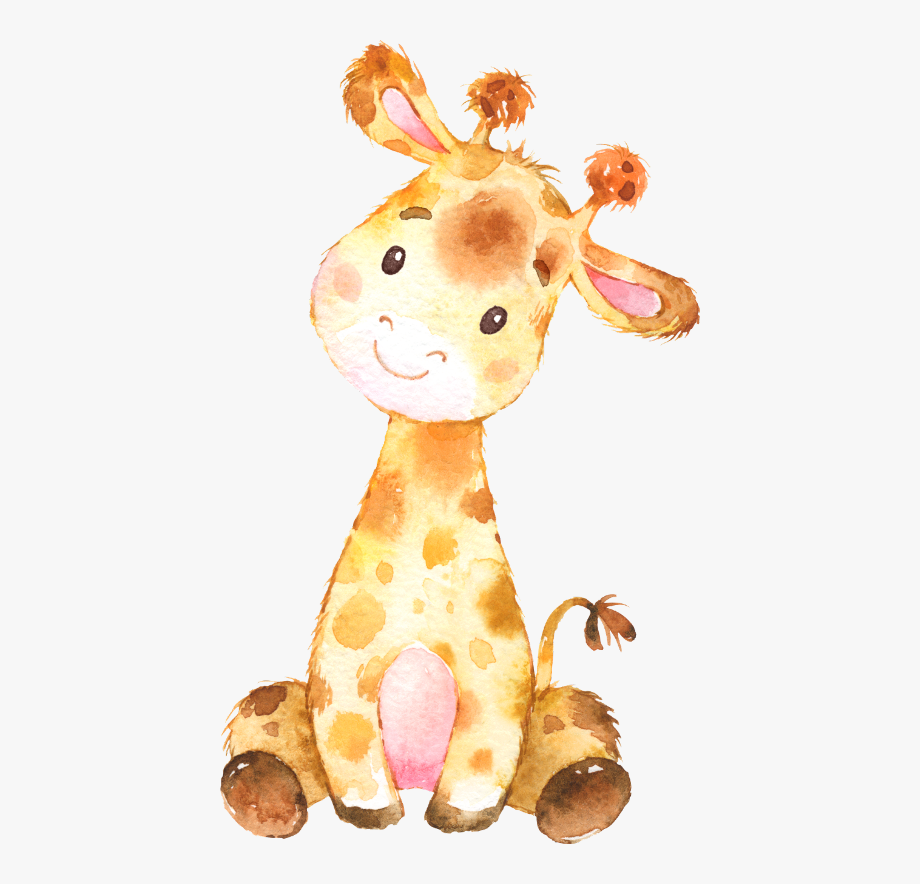 Baby free cliparts on. Giraffe clipart watercolor