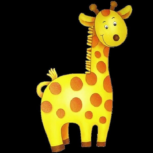 collection of cute. Giraffe clipart kawaii