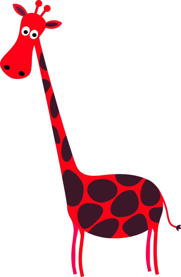 Giraffe red