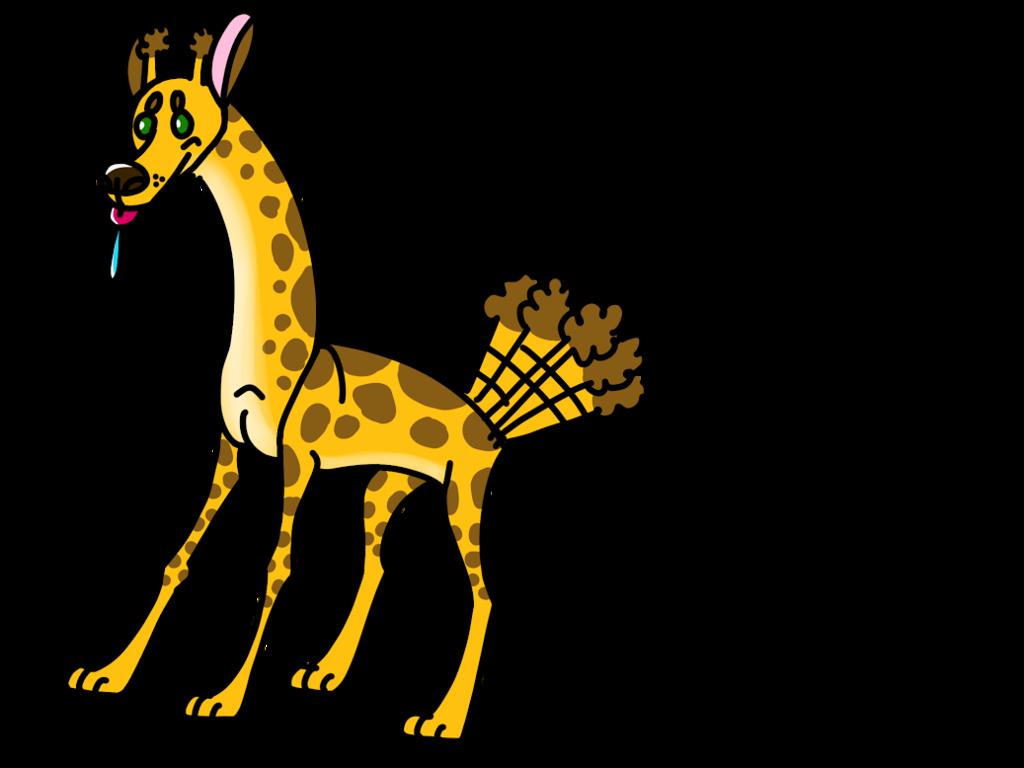 Wolf by predatoryduck on. Clipart giraffe skin