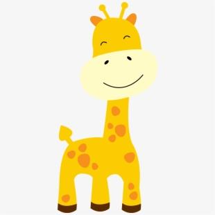 Clipart giraffe small giraffe. Free baby cliparts silhouettes