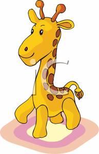Clipart giraffe small giraffe. A royalty free picture